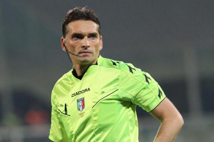 Massimiliano Irrati, arbitra Inter-Atalanta