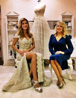 Informatii TINA OLARU designer al rochiilor la MISS WORLD