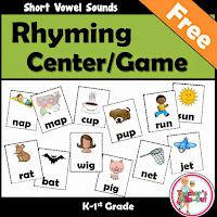 Free Rhyming Games using Short Vowels