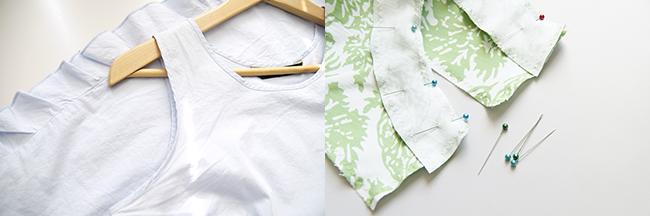 Ynas Design Blog | ärmellose Bluse nähen
