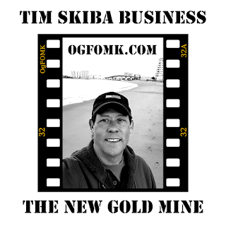 "© Tim Skiba / OgFOMK ArTS -- 2018 All Rights Reserved. - Tim Skiba Business - Cryptocurrency - ""The New Gold Mine"""