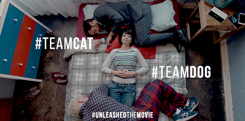 #TeamCat or #TeamDog? Unleashed is Available Now + win a copy
