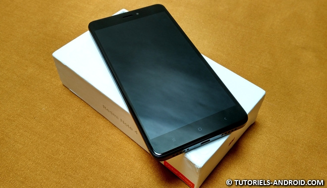 Redmi Note 4X : écran et design