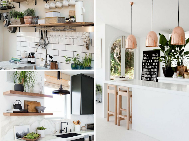 Elementos decorativos na cozinha