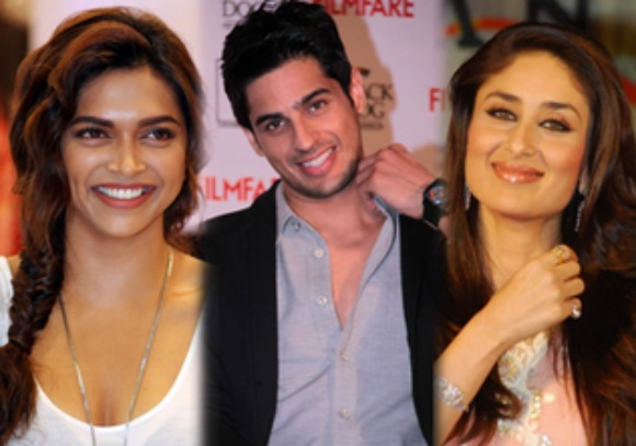 Sidharth Malhotra should romance Deepika Padukone