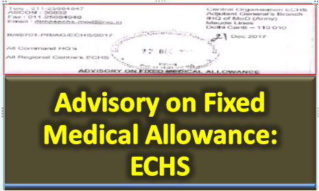 advisory-on-fixed-medical-allowance-echs-paramnews