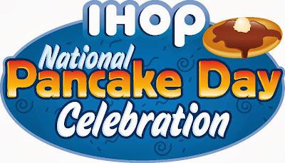 IHOP free pancakes 2015