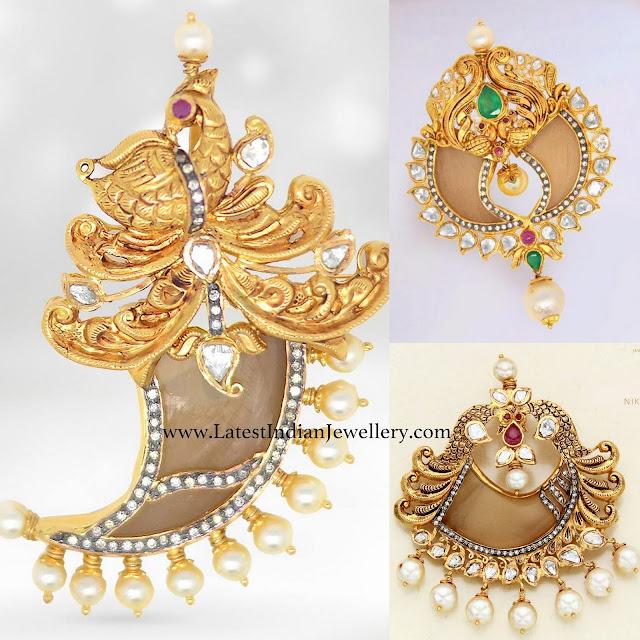 Puligoru Pendant Designs by Nikitha