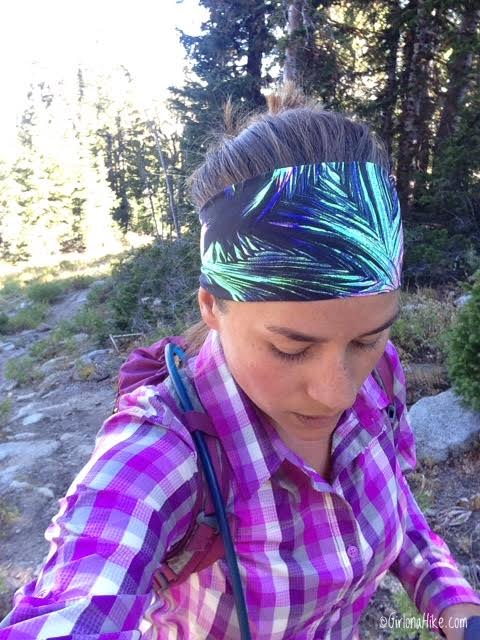 Hiking the Wolverine Cirque to Brighton Lakes (Loop), FitnessFox Headbands