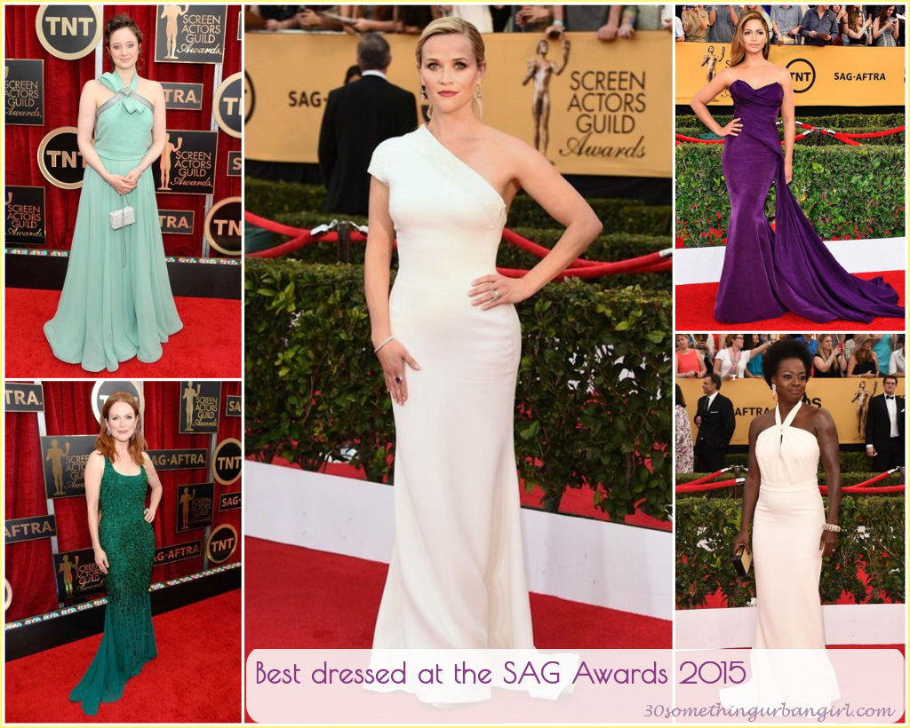 Best dressed at the SAG Awards 2015