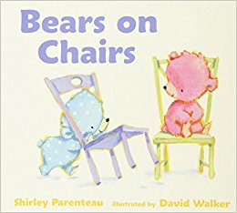 Cover of bears on chairs