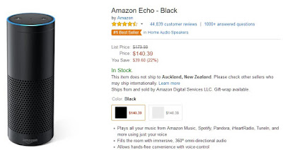 Full-size Amazon Echo just went on sale!