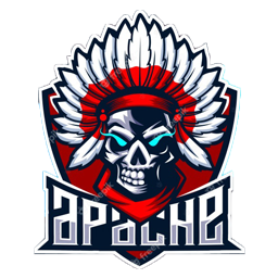 logo tengkorak hitam