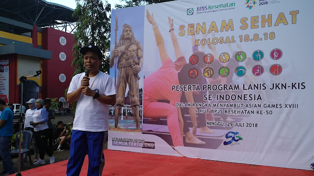 Ratusan Masyarakat Ikuti Senam Sehat Kolosal BPJS Kesehatan Cabang Watampone