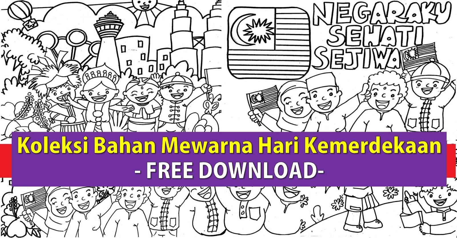 Gambar Lukisan Kemerdekaan Malaysia