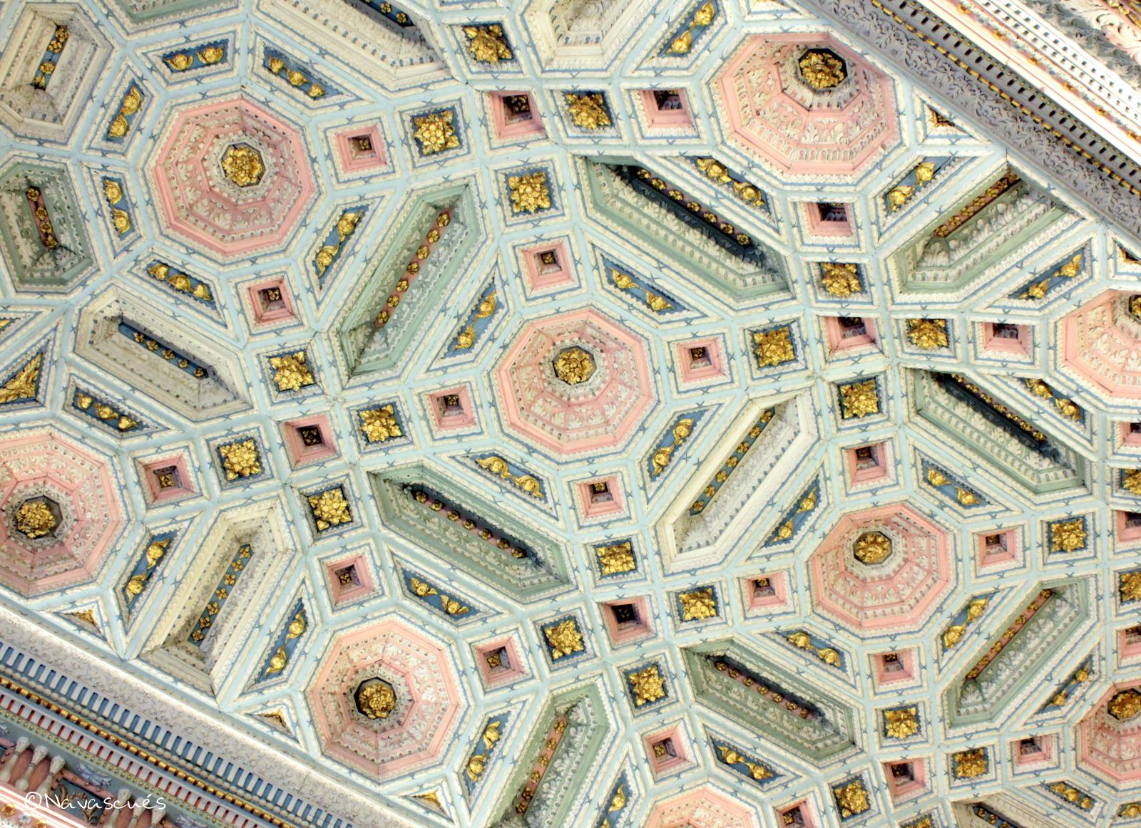 Detalle del techo de la Sala Capitular
