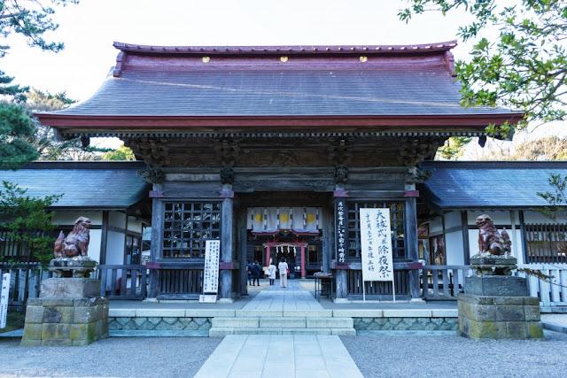 大洗磯前神社(茨城)・随身門