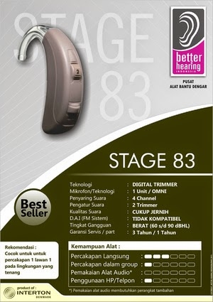 Alat Bantu dengar stage 283