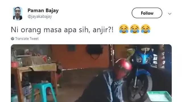 Bikin Ngakak, Cara Pria yang Mencoba Masak Ini Viral di Media Sosial