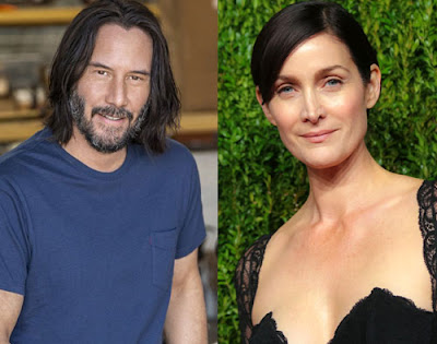 Keanu Reeves And Carrie Anne Moss The Matrix 4
