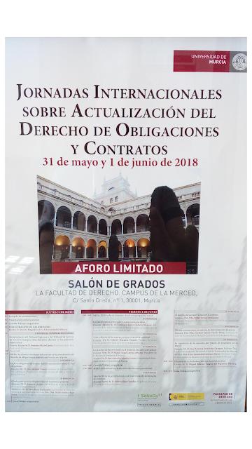 Jornadas Internacionales sobre la modernización y unificación del derecho de obligaciones y contratos.