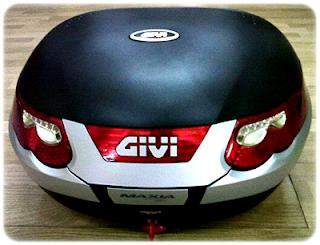 Box GIVI E55 Maxia Italy=Rp 4.500.000,-