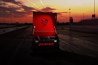 Dodge Challenger Demon SRT Trailer Logo Picture