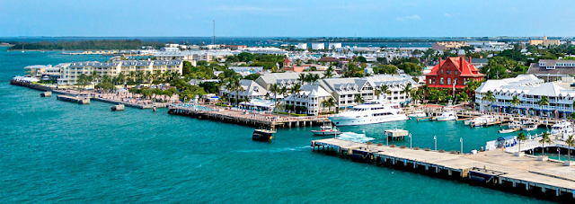 Ilha de Key West na Flórida