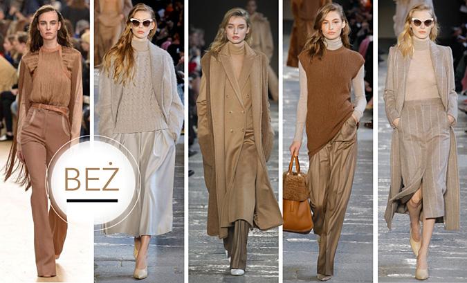 modne kolory jesien 2017 2018
