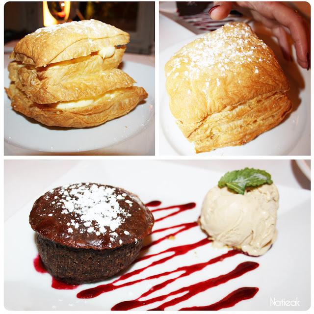 moelleux chocolat et millefeuille vanille bourdon