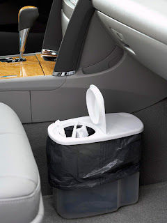 Image: Re-Purposed Car Trash Can
