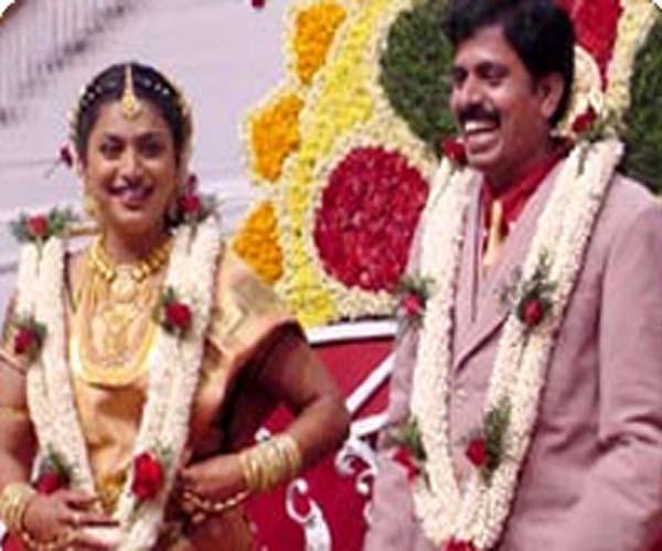 Actress Roja Marriage Photos