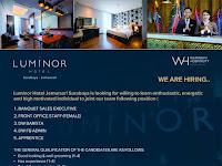 lowongan kerja luminor hotel jemursari surabaya