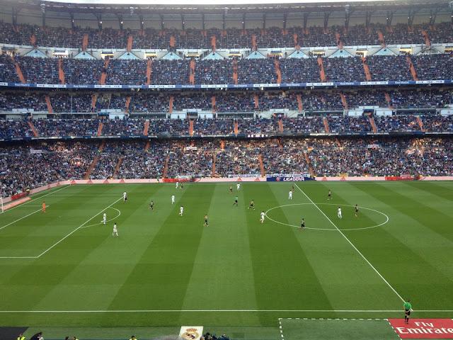 Real Madrid jalkapalloa Bernabeu