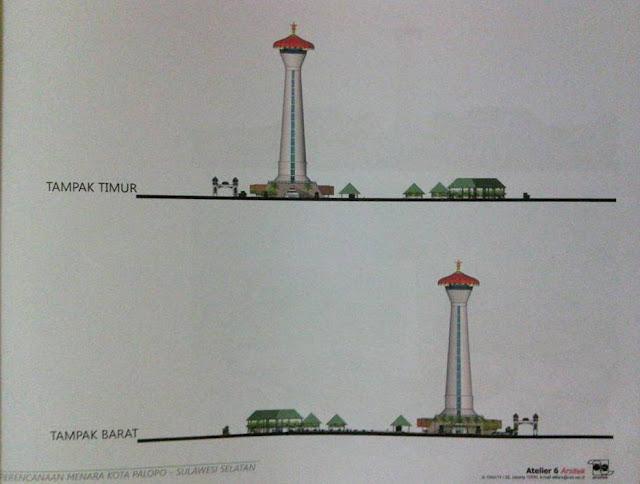 Pemkot Ekspose Rencana Pembangunan 'Menara Kota Palopo' di DPRD, Intip Desainnya Disini
