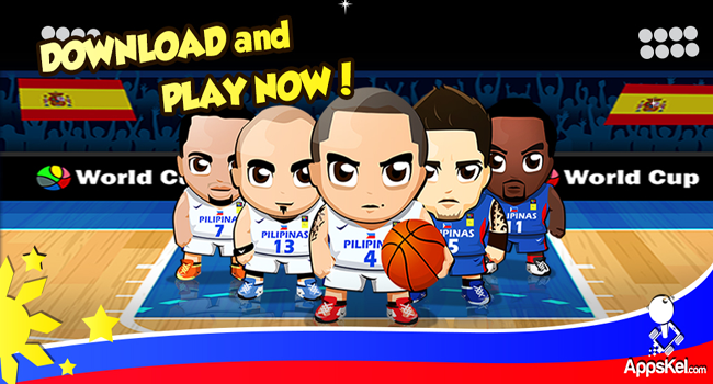Free Gilas Pilipinas Laban! Puso! Mobile Game Launched