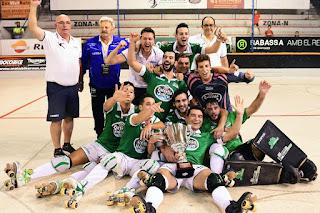 HOCKEY PATINES - El Liceo alza su primera Supercopa