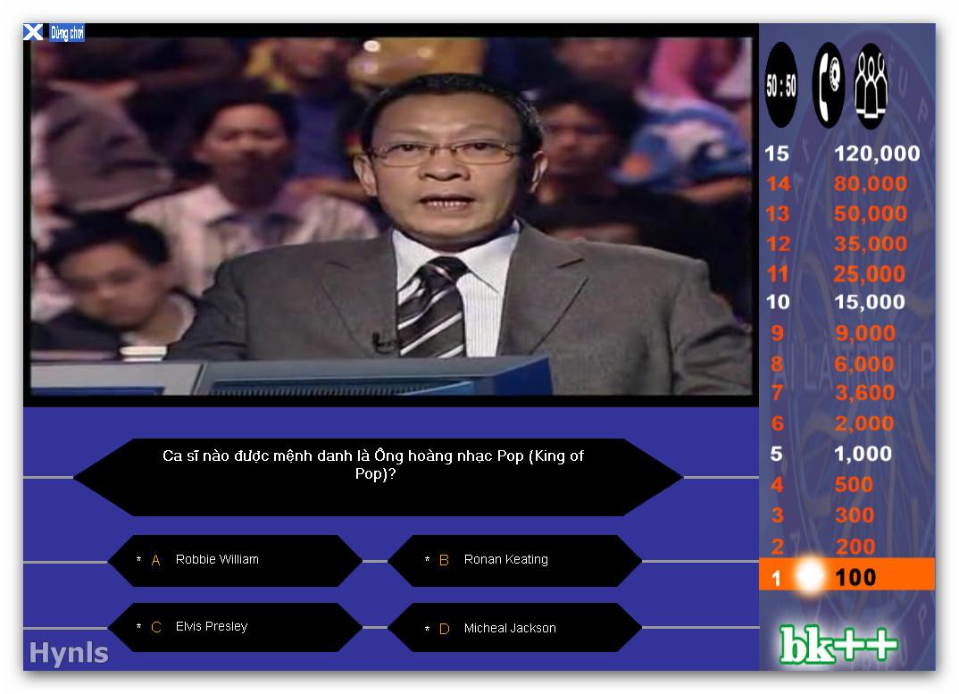 Game Ai Là Triệu Phú