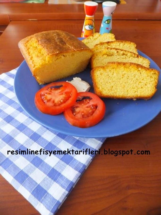 mısır unlu kek ekmek