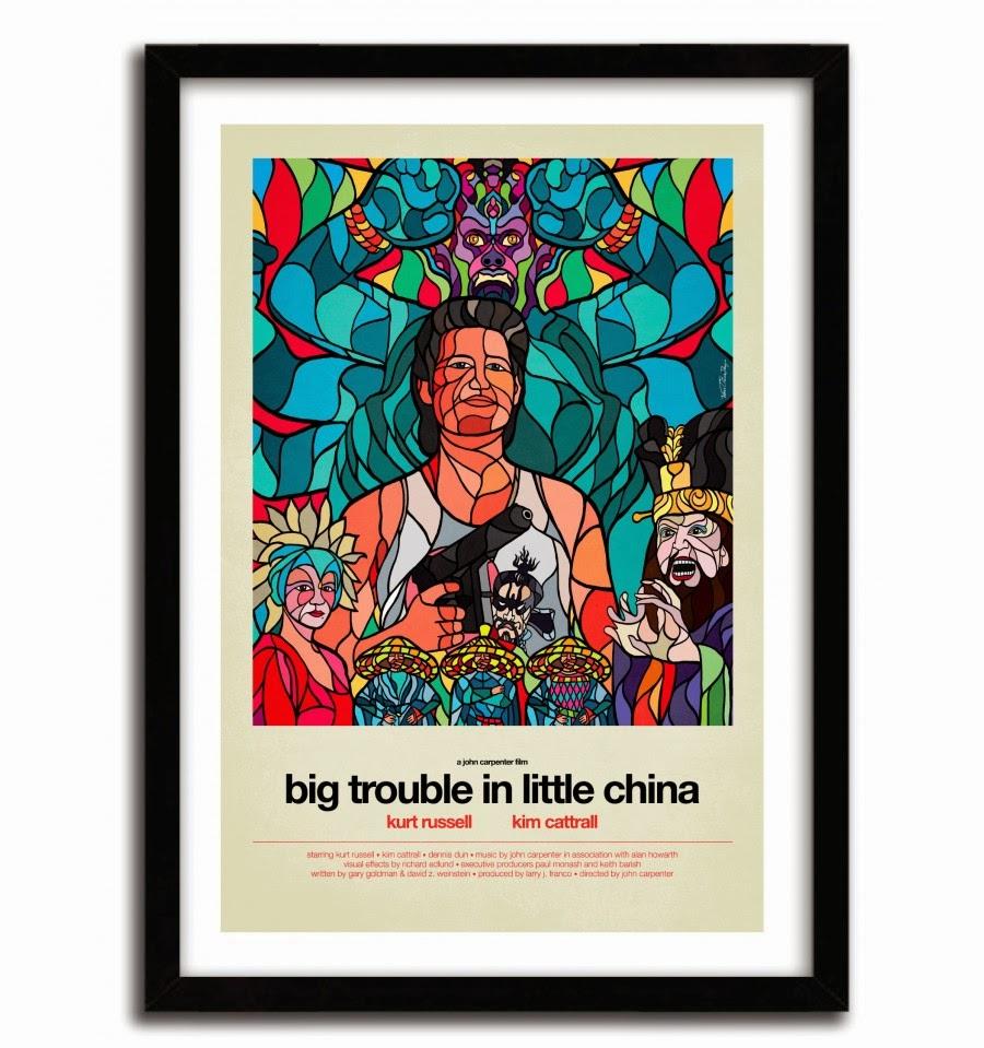"""New """"Big Movie"""" Series Prints By Van Orton X K.Olin Tribu"""