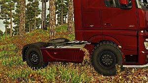 Wheels Kamaz for all trucks SCS