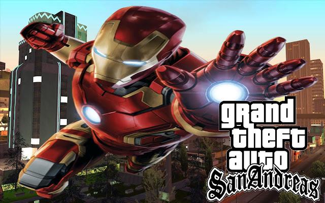 تحميل مود ايرون مان gta sa شرح تثبيت قوة خارقة مودات جتا سان GTA San andreas Iron Man Mod