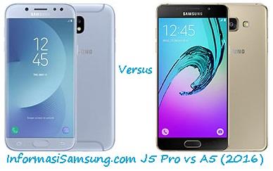 Harga dan Spesifikasi Samsung J5 Pro vs A5 (2016)
