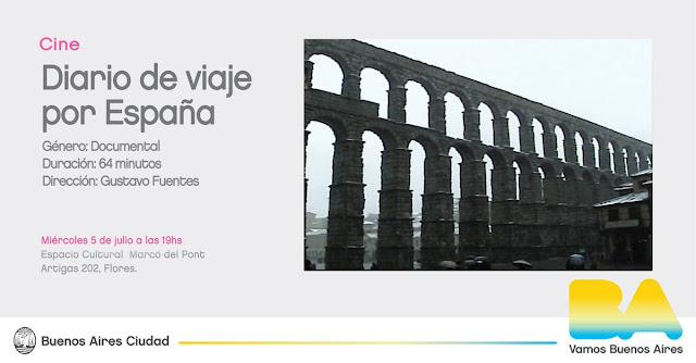 Diario de Viaje por España (Gustavo Fuentes) Documental Estreno