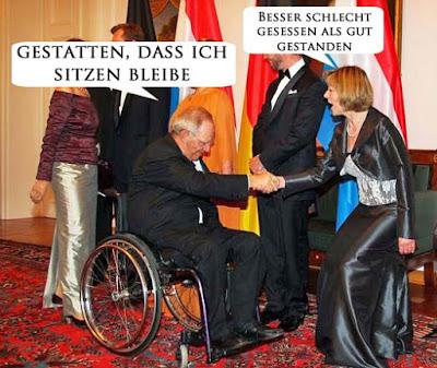 Lustige Bilder Sprüche Politiker Rollstuhl