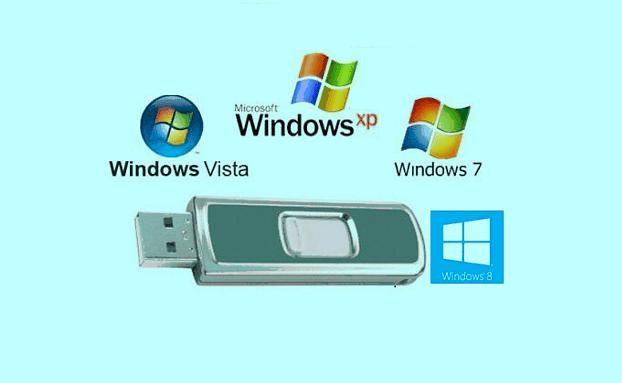 تحميل برنامج WinSetupFromUSB لحرق جميع نسخ الويندوز على الفلاش ميمورى