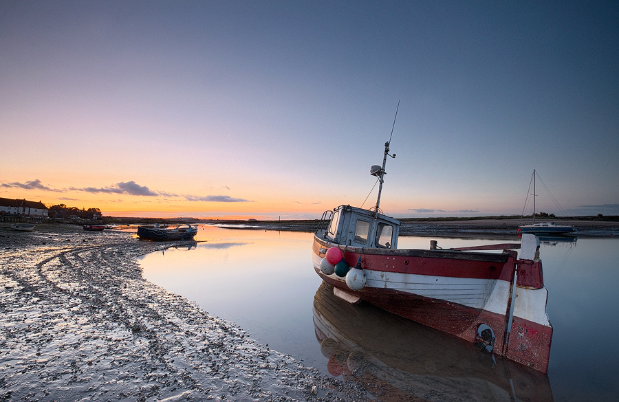 Hayley, at Burnham Overy Staithe. Fuji X-T1 and Fujinon 10-24 mm F4 lens