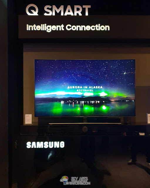 Samsung 2018 QLED TV launch in Malaysia - SmartThings Broadcast Sharing Alaska Aurora #TCTravel