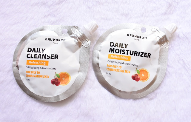 Review Brunbrun Daily Cleanser & Moisturizer (Refreshing)