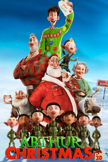 Arthur Christmas Characters.So Purse Your Lips And Blow Me A Kiss Christmas Week Top 5